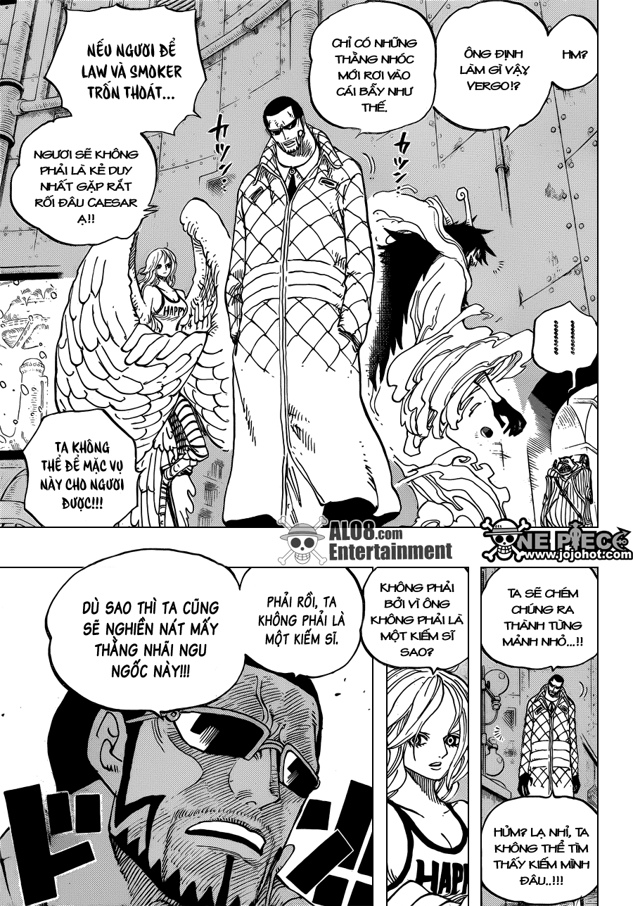 One Piece Chapter 679: Quyết tâm của G-5 006