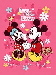 Grosir Selimut New Seasons Blanket Mickey Love