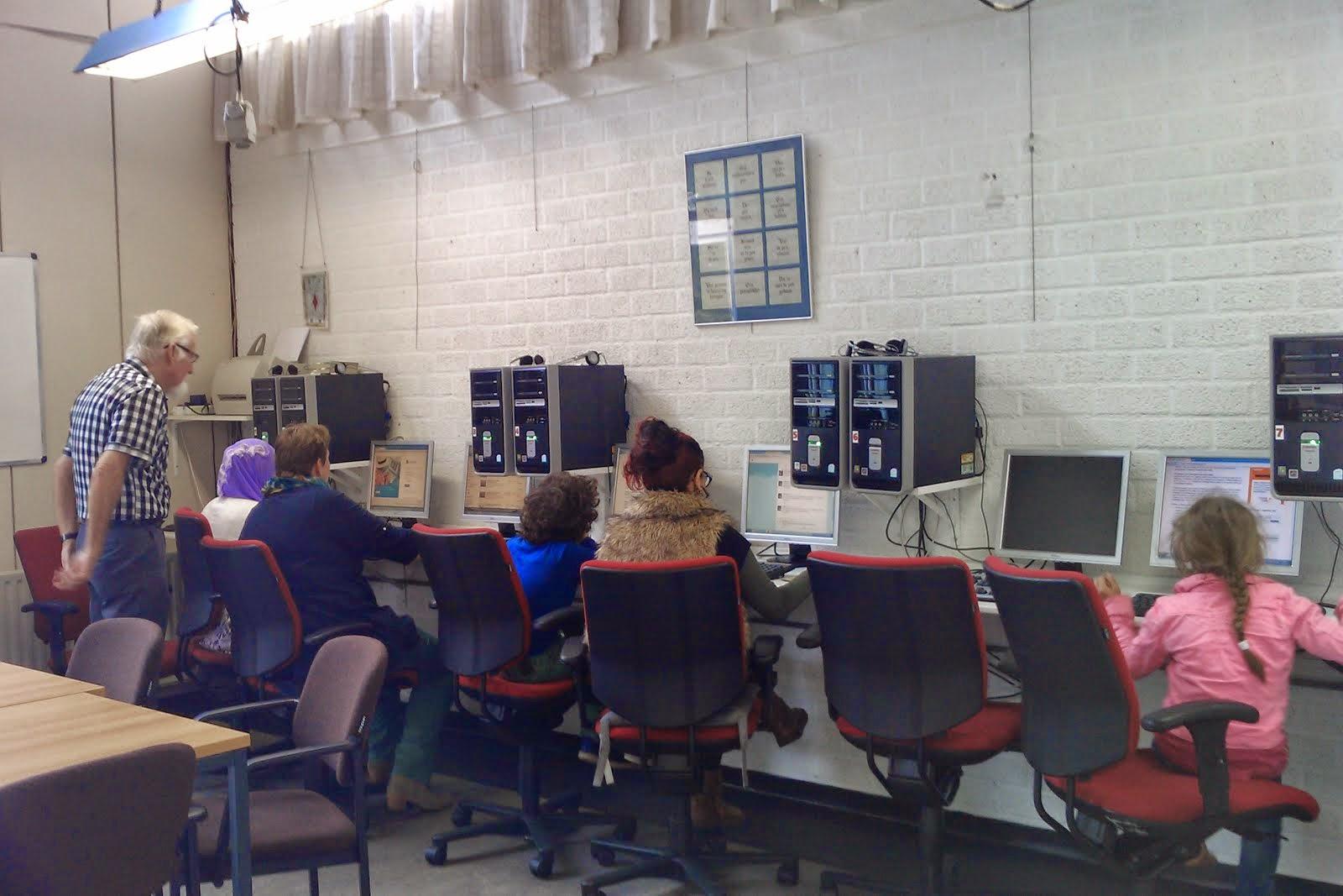 Een Internetcafé