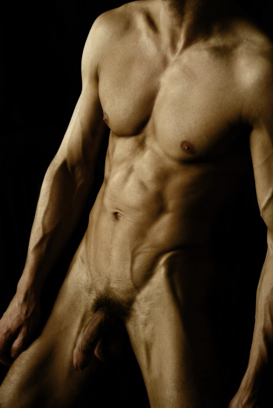 Муж голое тело