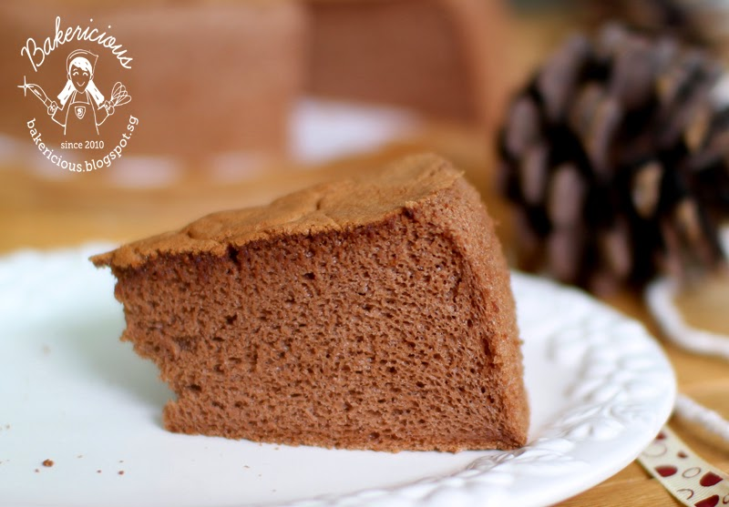 Bakericious: Chocolate Sponge Cake