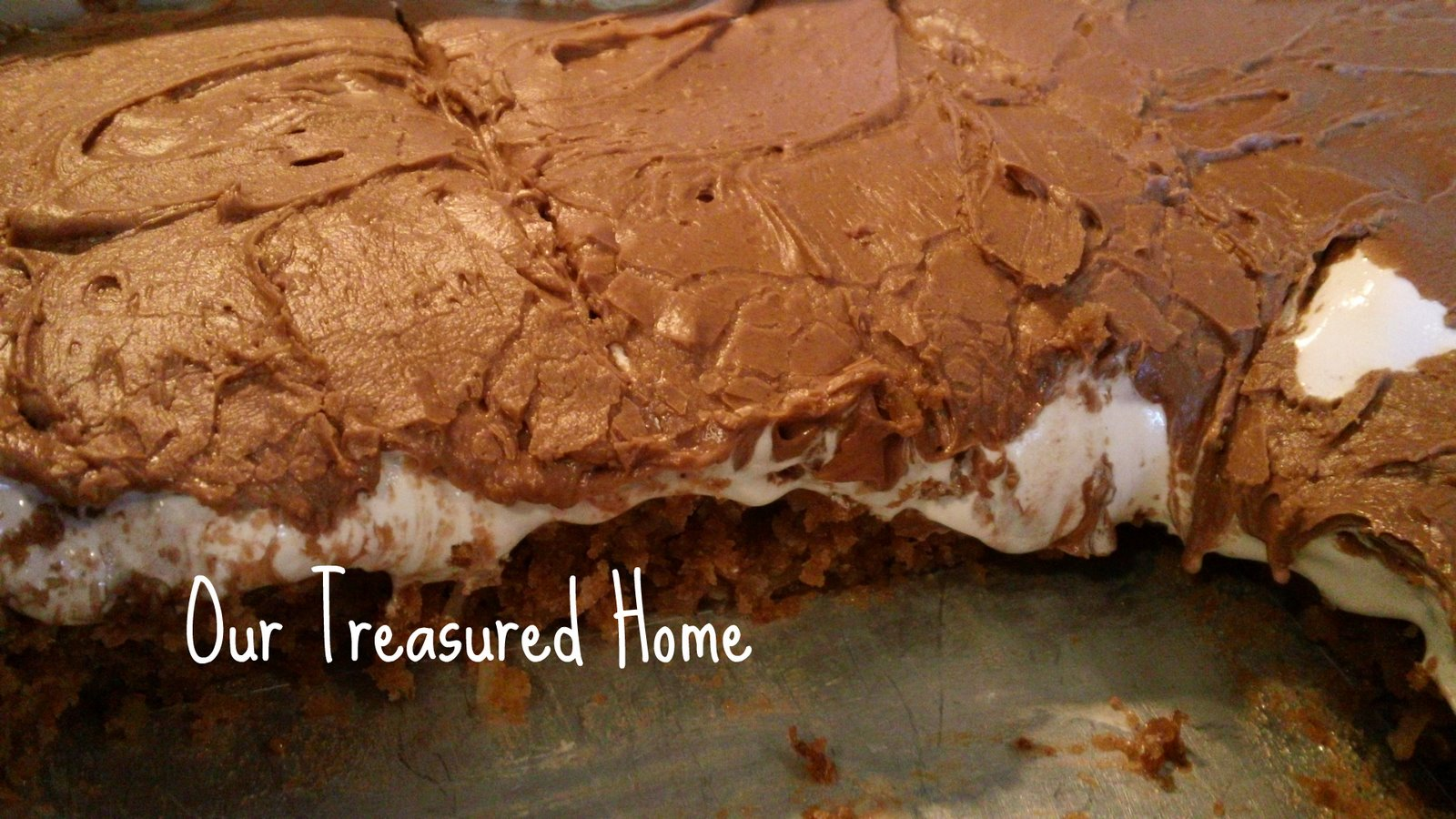 Our Treasured Home: Mississippi Mud Cake
