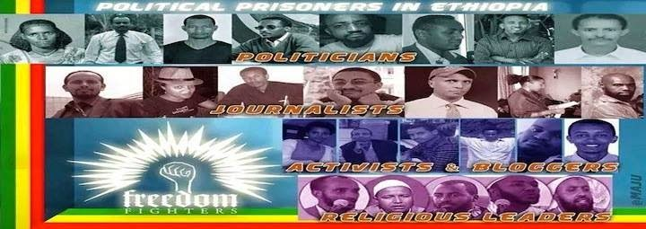 Free political prisoners in Ethiopia