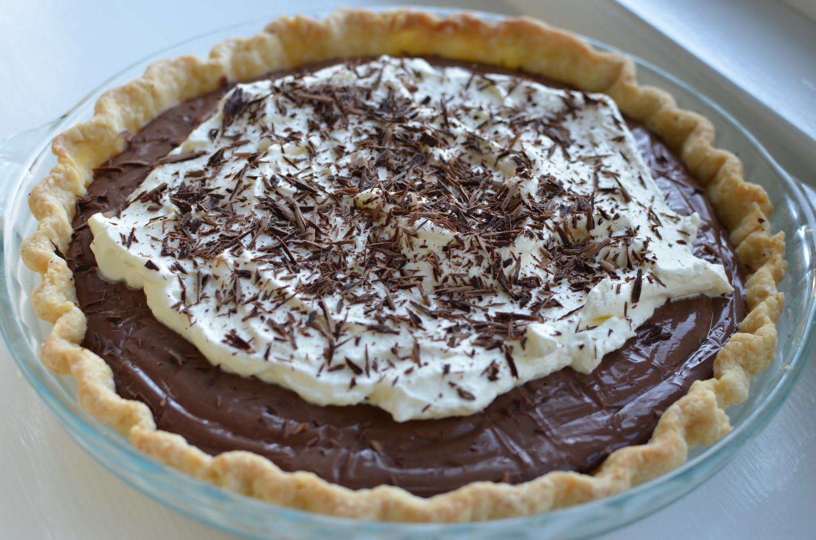 Playing with Flour: Chocolate pudding pie