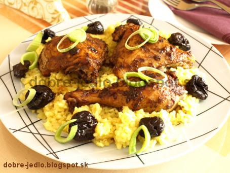 Kurča na marocký spôsob - recepty