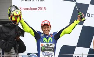 Rossi Komentari Kemenangannya di MotoGP Inggris 2015