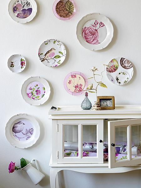 For the love of a plate display wall jennifer rizzo - Decor wall plates ...