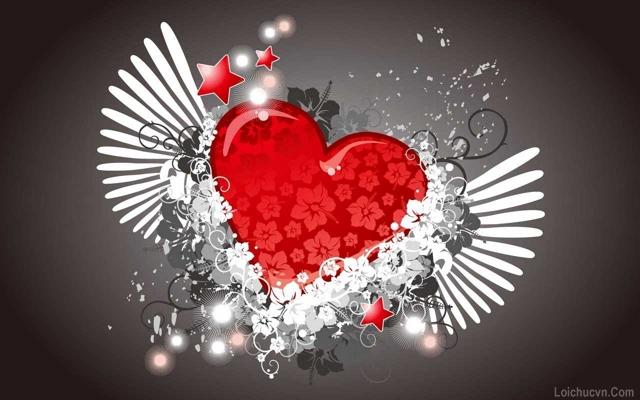 Hình ảnh trái tim lung linh