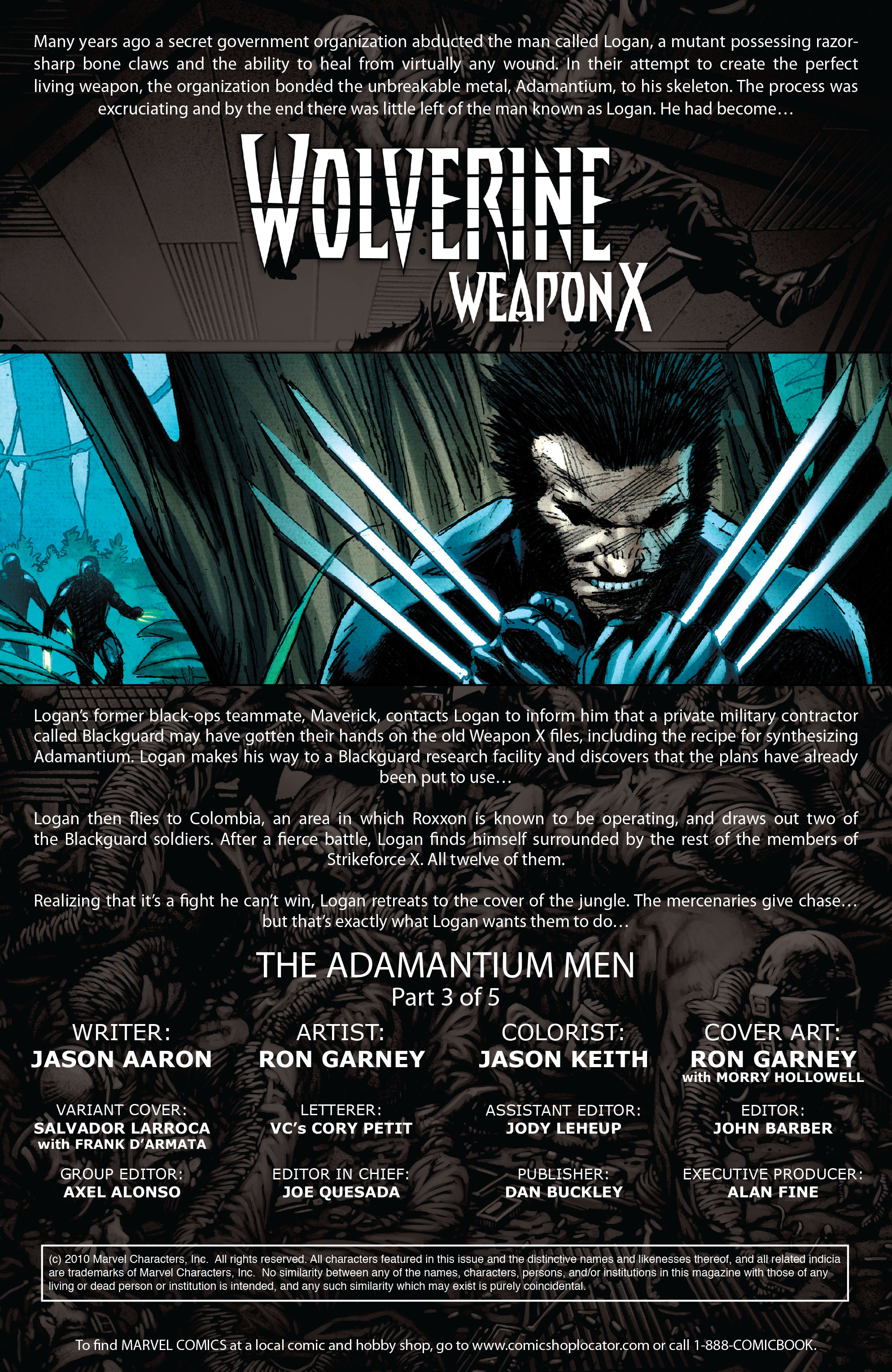 Wolverine: Weapon X #3 #14 - English 2