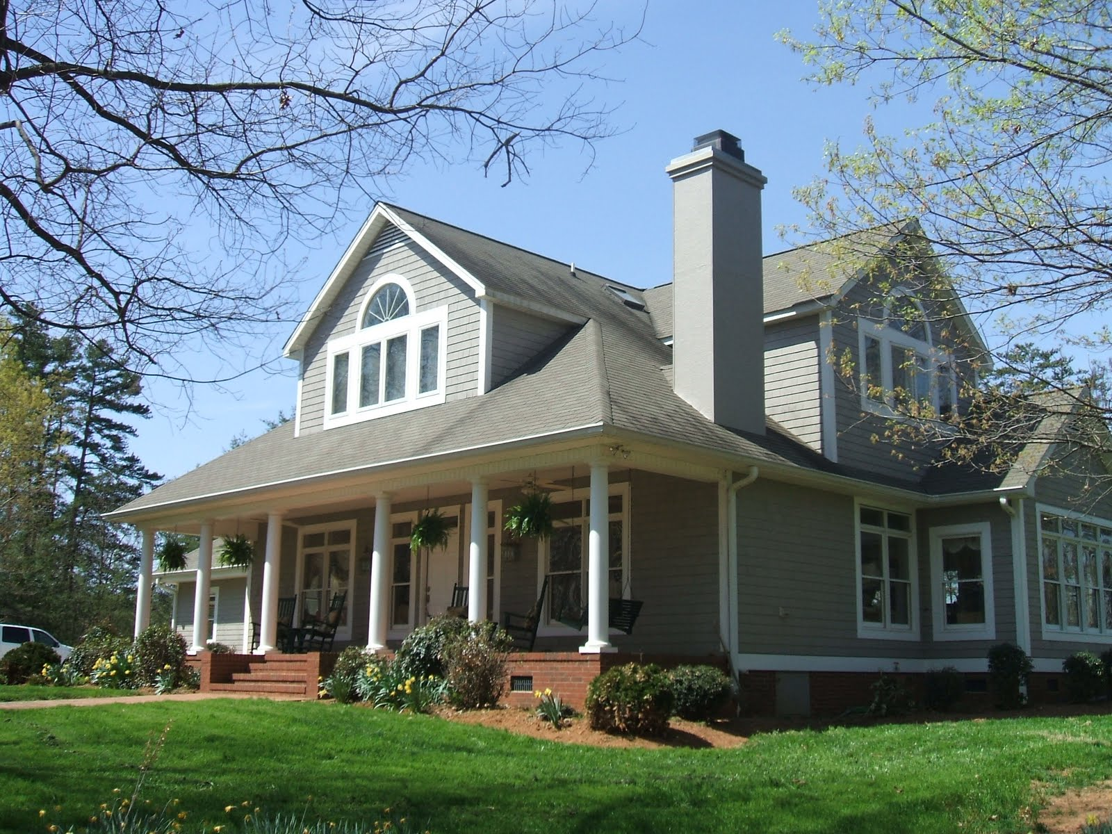 Southern cottages house plans the woods cottage for Southern cottage house plans with photos