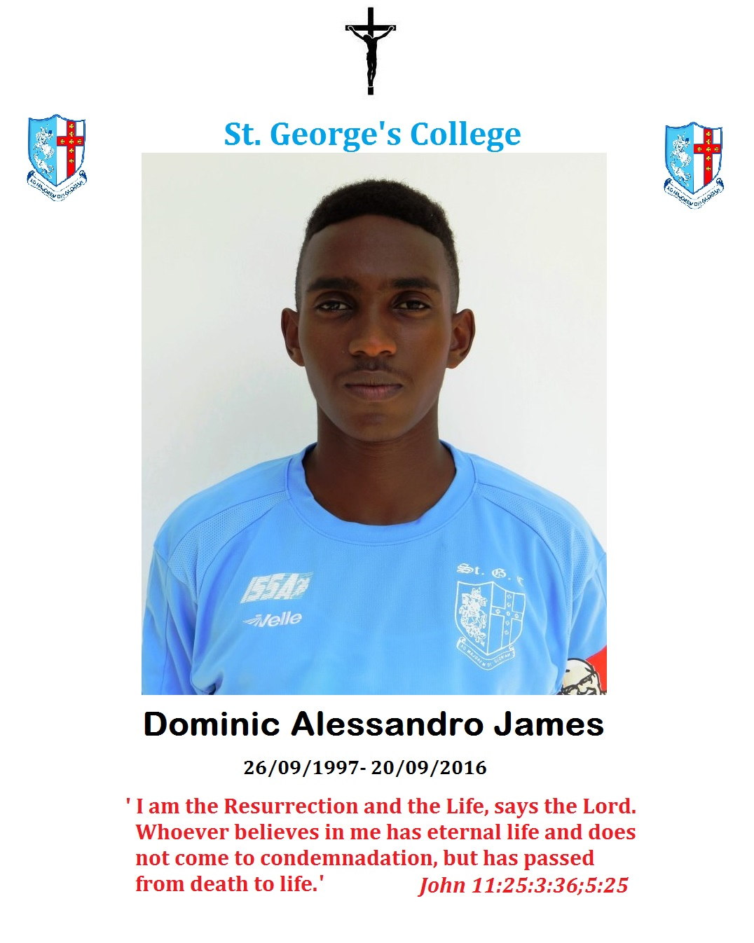 lowrie chin post stgc tragedy rest in peace dominic james