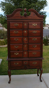 Queen Anne Chest of Drawers  *SOLD*