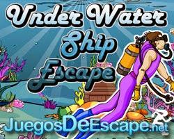 Juegos de Escape Under Water Ship Escape