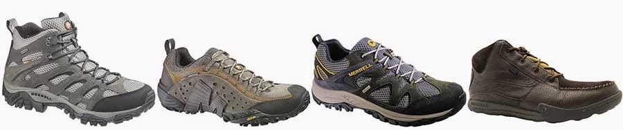 Merrell walking hiking footwear