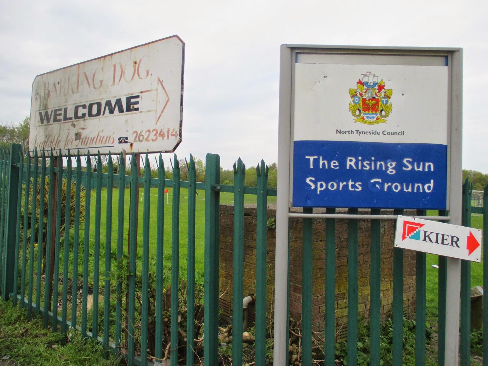 Barking Dog Sports Ground Wallsend
