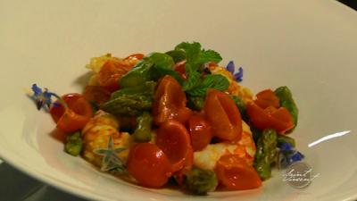 Come cucinare i gamberoni in guazzetto - Ricetta dello Chef Francesco Liguori