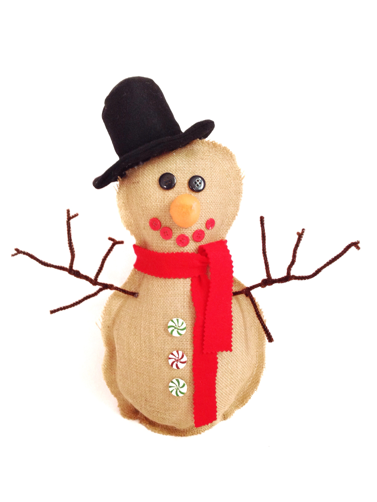 plush snowman sewing pattern