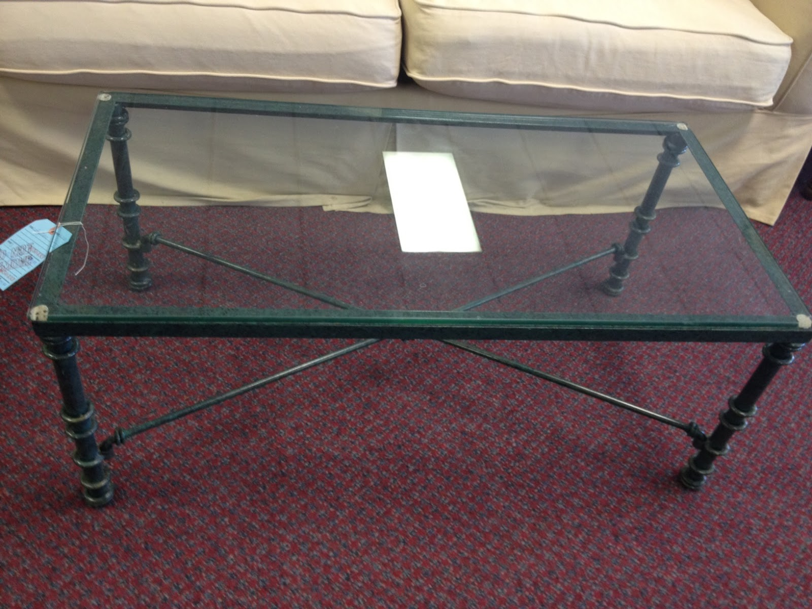 Richmond Thrifter Coffee table that needs a bling factor