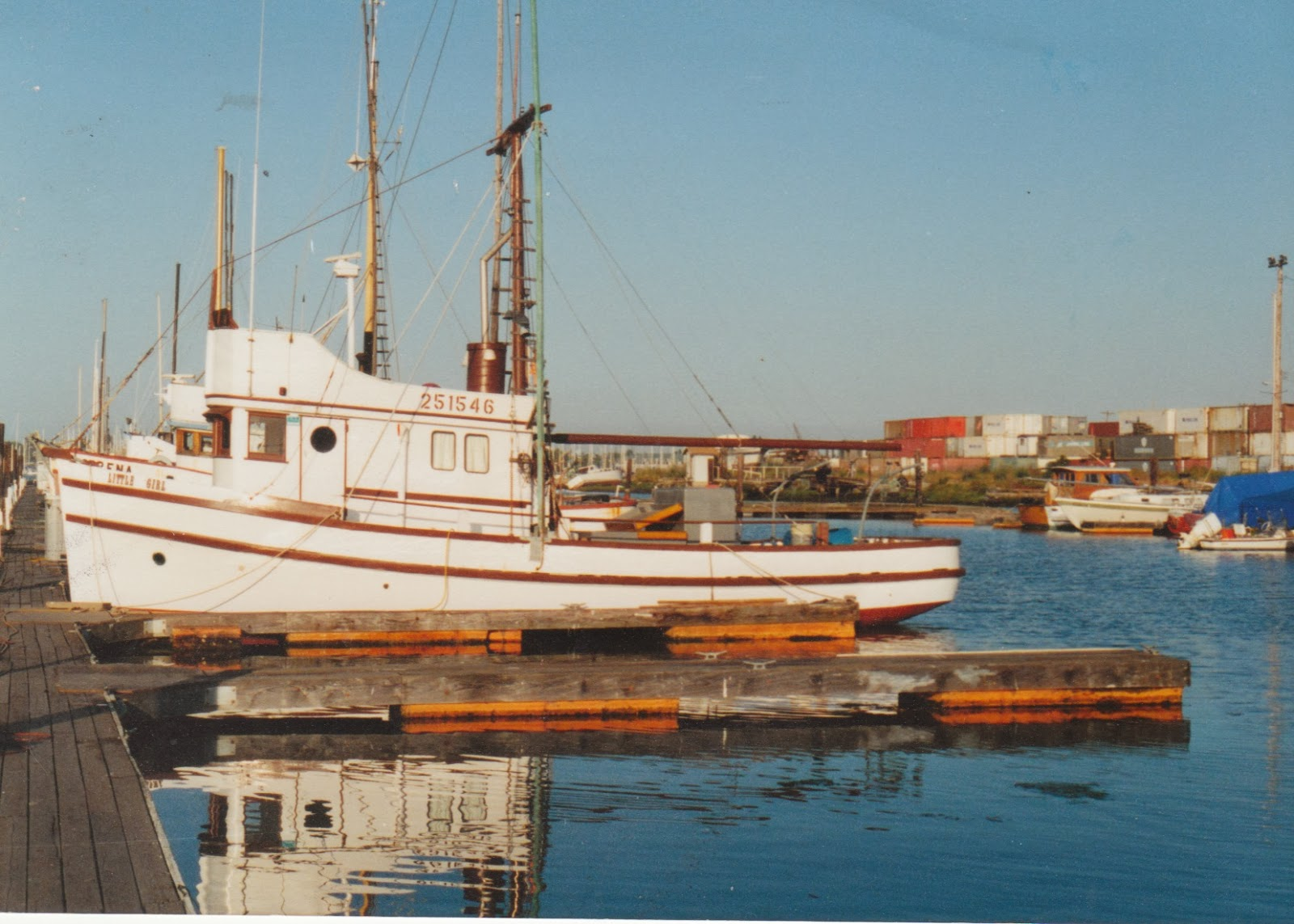 Darrell magnus boats fishing boats for Salmon fishing san francisco