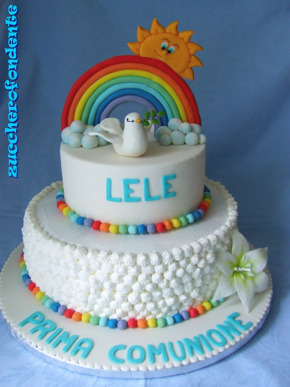 Préférence Torta Prima Comunionea colori!!!!! LT39