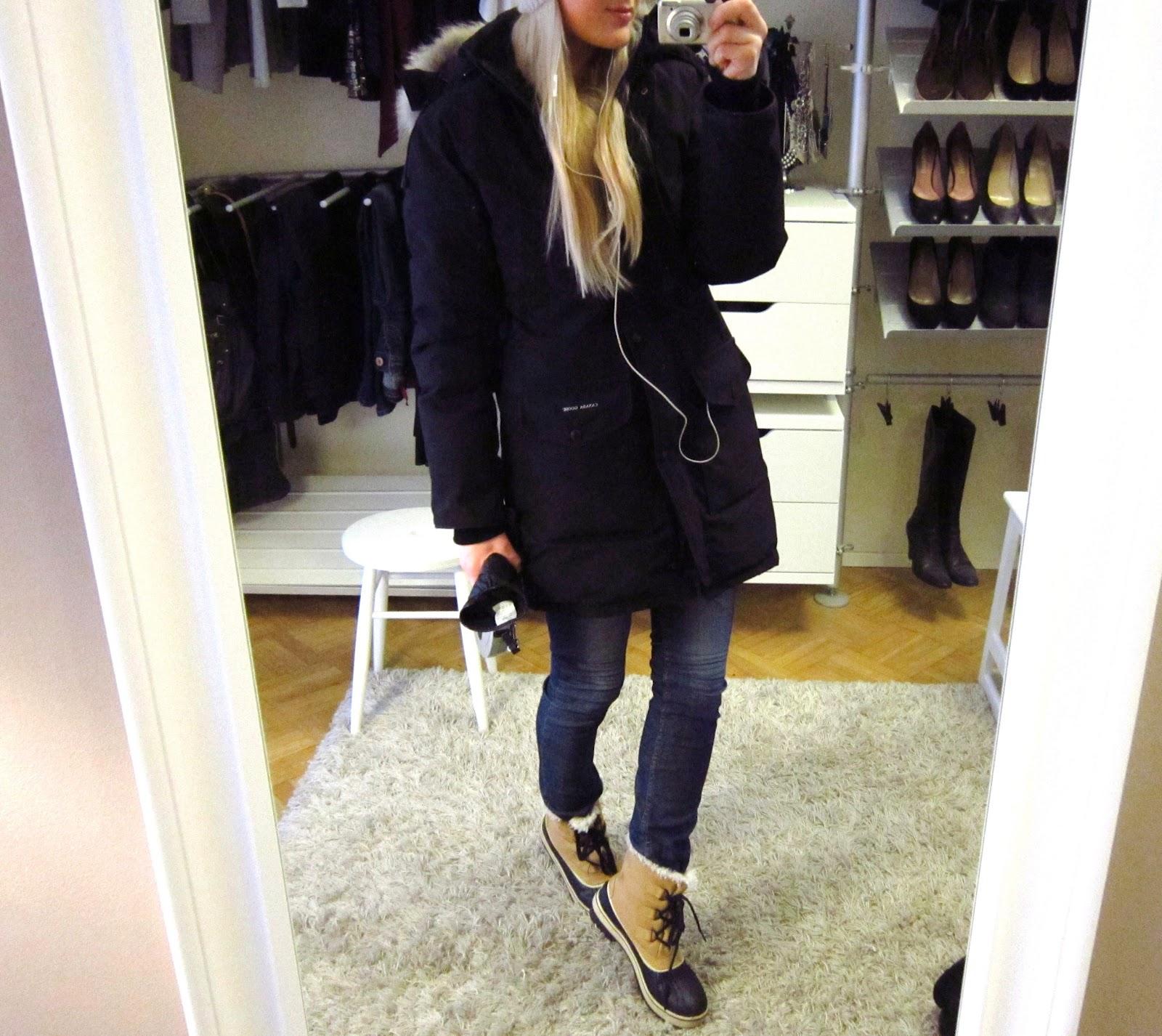Millaista talvitakkia käytät  entä kengät ja siis ihan normaalisti ... bd3b3c5624