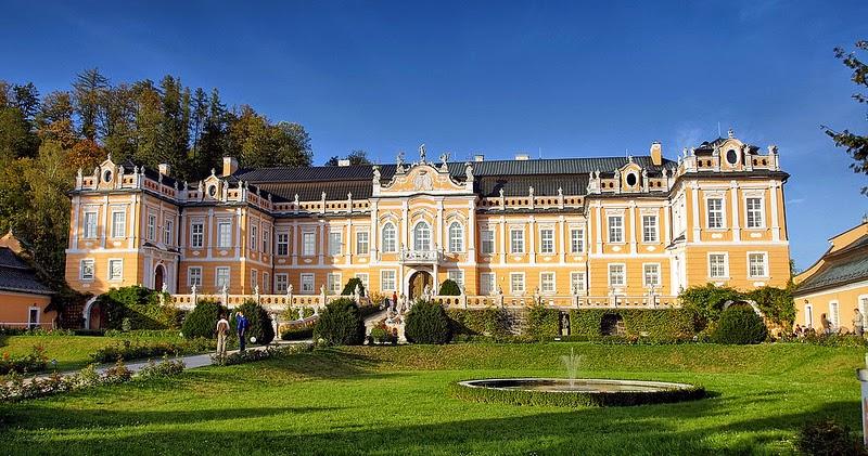 Nové Hrady Zamèk Versailles boema