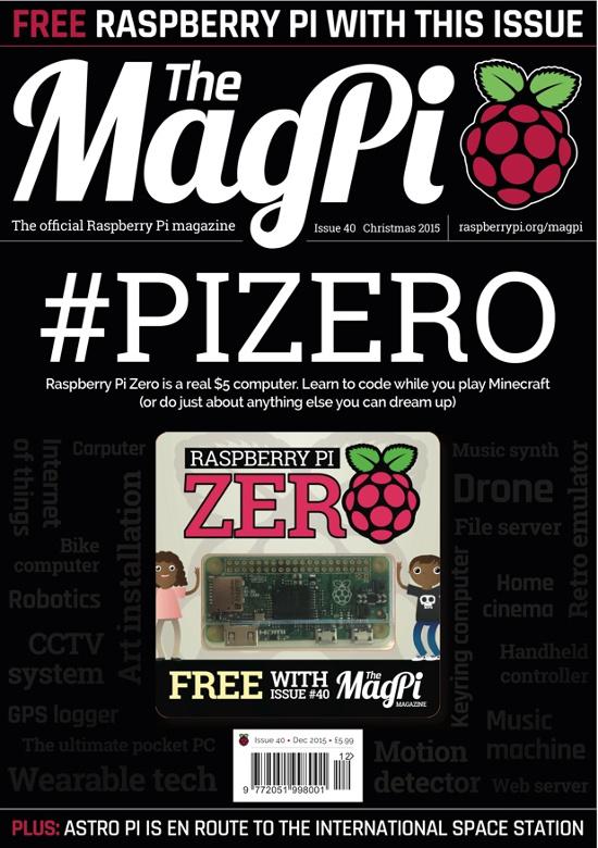 The MagPi 40ª Edição