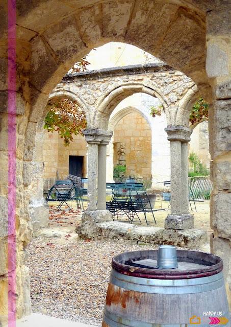Saint Emilion - Cloître des Cordeliers