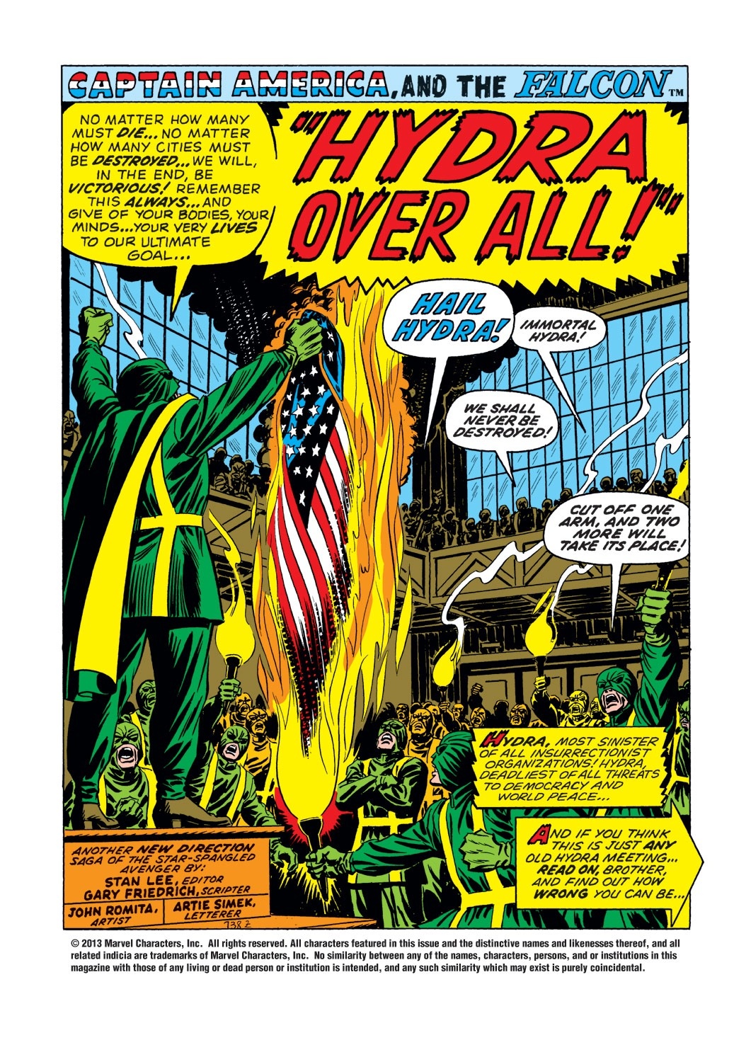 Captain America (1968) Issue #144 #58 - English 2
