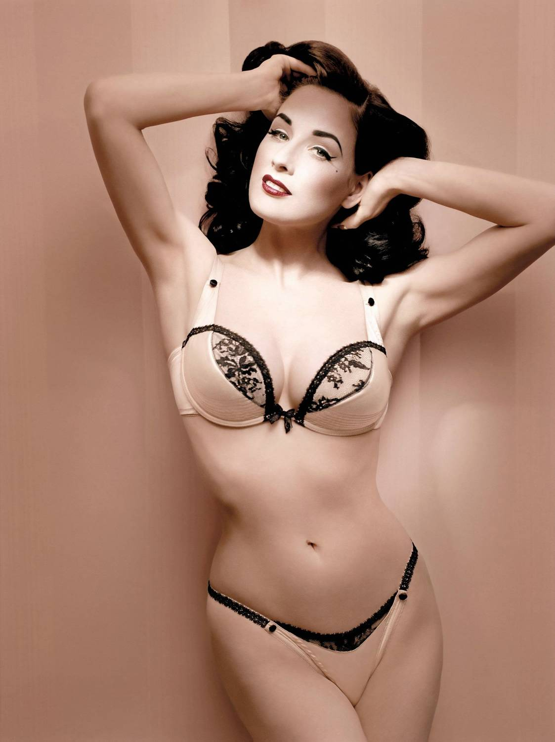 Feast your eyes on Dita Von Teese. This comely young lady is a model, ...