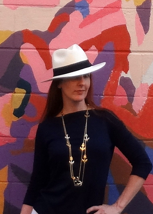 How to style a Panama hat