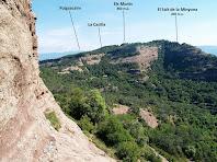 Panoràmica de tramuntana des de la pujada al Puig dels Jueus