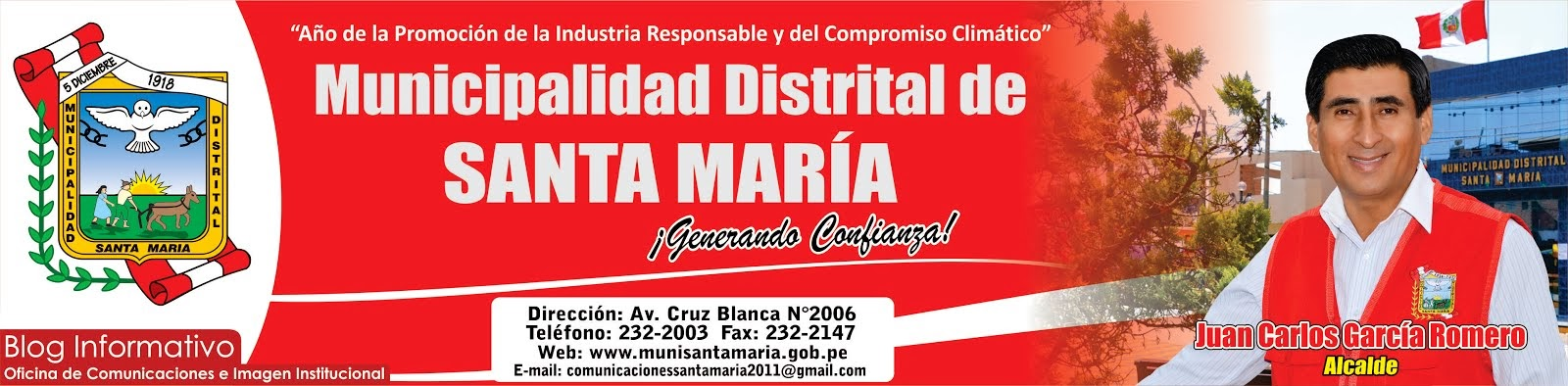MUNICIPALIDAD  DE SANTA MARIA
