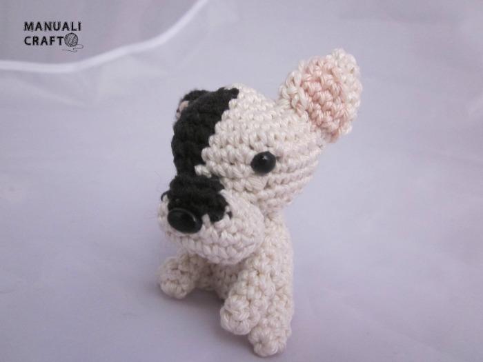 Bulldog francés: un perro amigurumi | Manualicraft - Costura creativa