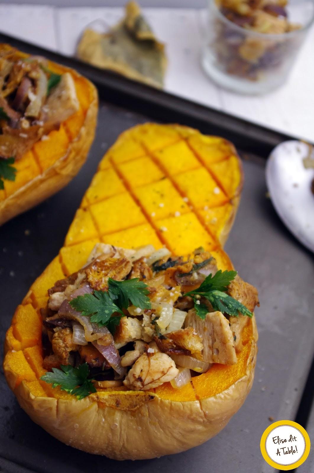 Recette courge butternut d 39 automne blog cuisine - Comment cuisiner courge butternut ...