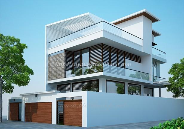 mẫu nhà được xây dựng chuyên nghiệp