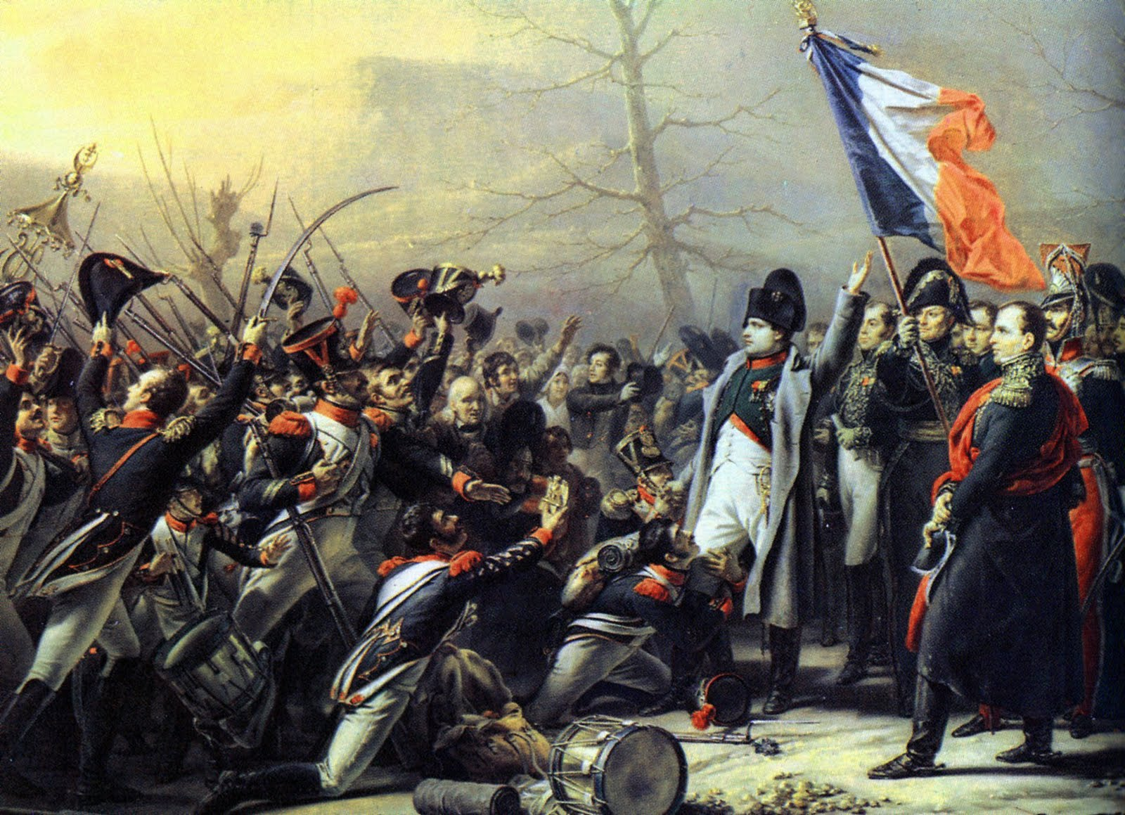 Napoleon quotes in french quotesgram for Poster revolution france