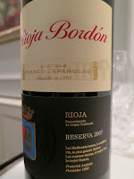 Rioja Bordón Reserva 2007 - DOCa Rioja, Spain (90+ pts)