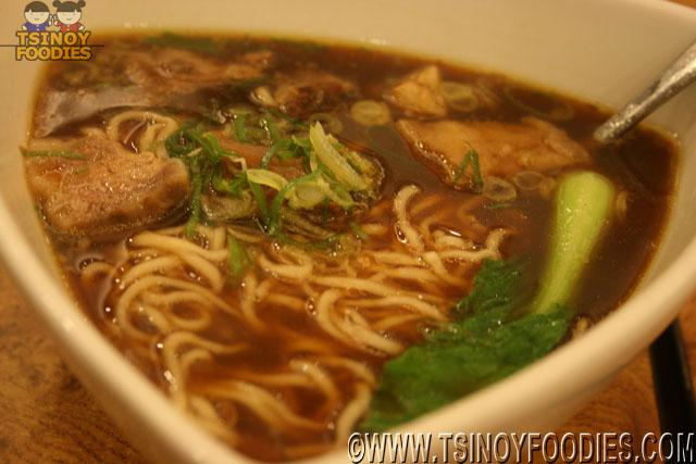 noodles with braised beef soup