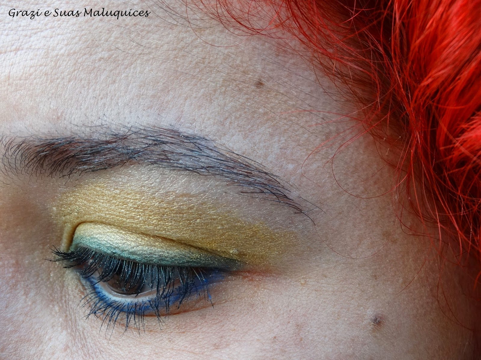 Maquiagem: Olhos para a Copa Brasil