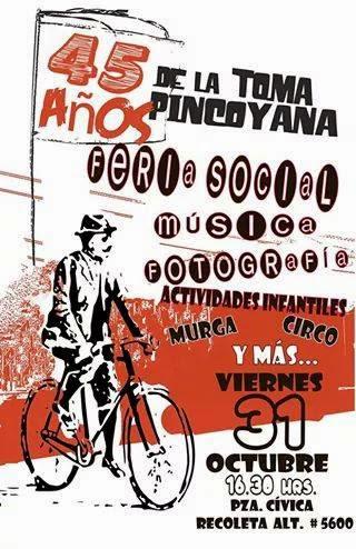 RECOLETA, LA PINCOYA: 45 AÑOS DE LA TOMA PINCOYANA