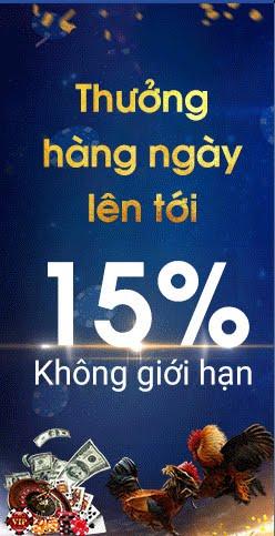 Thưởng ngay 15%
