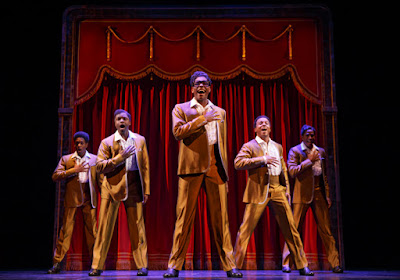 MOTOWN the Musical | The Temptations | Photo: Joan Marcus