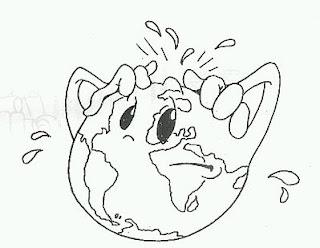 Dibujos del Medio Ambiente para Pintar, parte 2