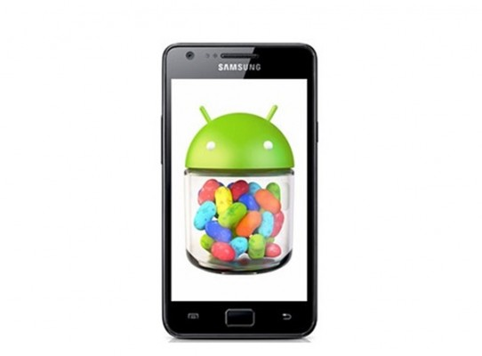 Galaxy S2 official Jelly Bean Update