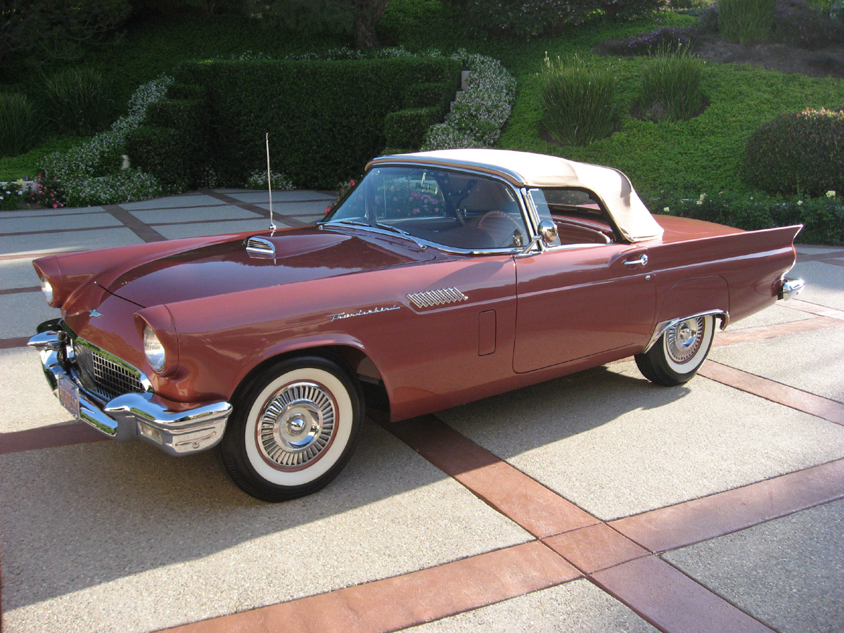 ford cars ford thunderbird 1957. Cars Review. Best American Auto & Cars Review
