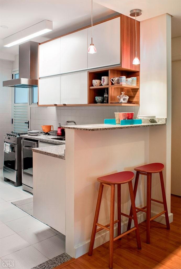 Apartamento de 69m bem planejado!  Jeito de Casa  Blog de Decoração # Armarios Para Cozinha Planejada Pequena