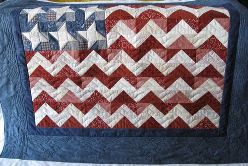Mamas Got A Chainsaw Flag Quilt How To Part 2