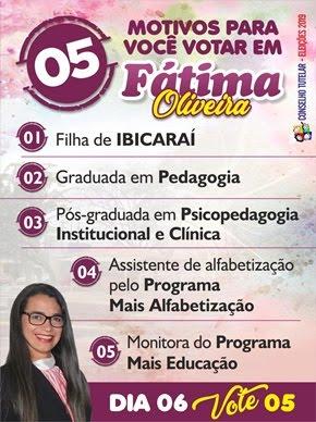 Fatima Oliveira Para o Conselho Tutelar
