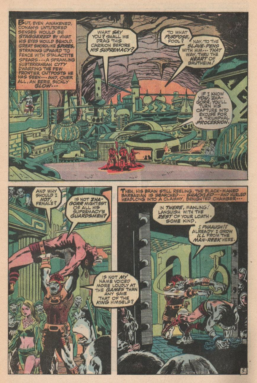 Conan the Barbarian (1970) Issue #2 #14 - English 6